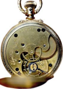 American Elgin 14K Yellow Gold Hunter's Case Pocket Watch
