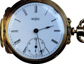 American Elgin 14K Yellow Gold Hunter's Case Pocket Watch