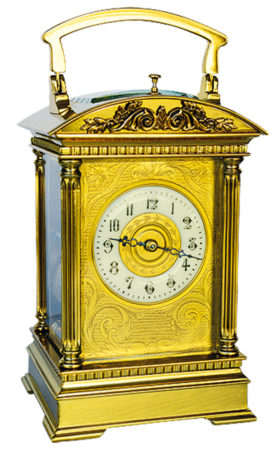 French Arch Top Carriage Clock