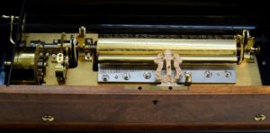 Swiss Rare Orchestral Imperial Model Interchangeable Cylinder Music Box