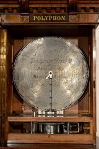 """German 24-1/2"""" Disc Music Box By Polyphon of Leipzig"""