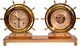 American Chelsea Claremont Clock and Barometer Set
