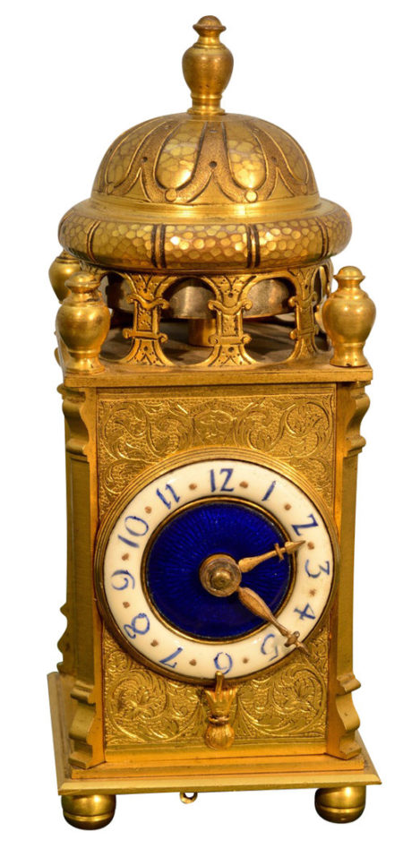 French Miniature Carriage Clock