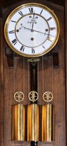 Austrian Oversize Serpentine Clock