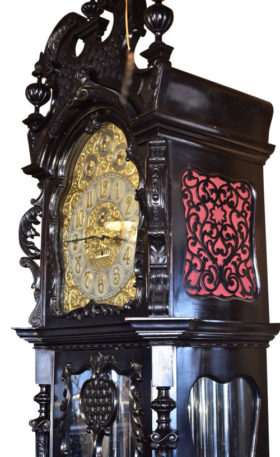 English 9 Tube Elliott Hall Clock