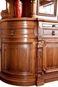 American Victorian Walnut Bookcase