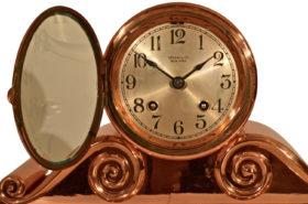 American Chelsea Clock Co. Tambour #2 In Copper