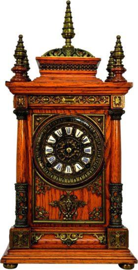 American Ansonia Cabinet Clock