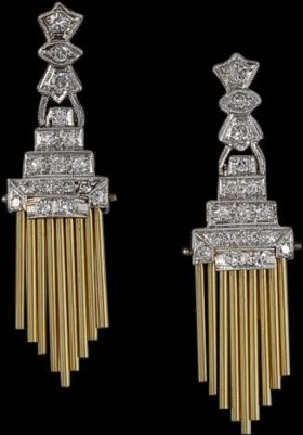 Organ Pipe Earrings