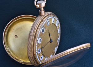 Musical 1/4 Reapeating Pocket Watch
