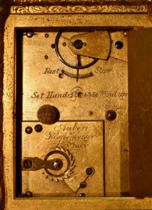 English Miniature Engraved Carriage Clock
