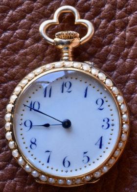 Portrait Enamel Watch