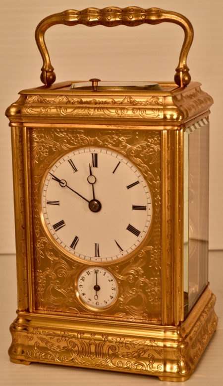 French Early Carriage Clock