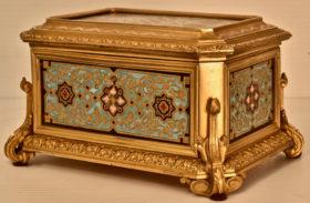 Cast Brass Box