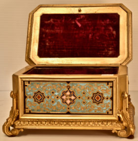 Cast Brass Box