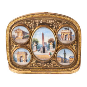 French Souvenir Purse