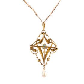 Victorian Lavalier Necklace