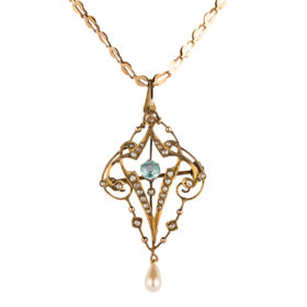 Victorian Lavalier Necklace