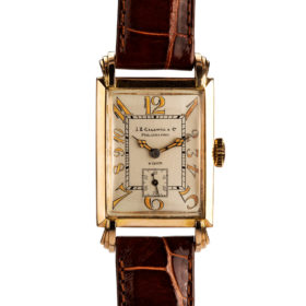 J.E. Caldwell Art Deco Wrist Watch