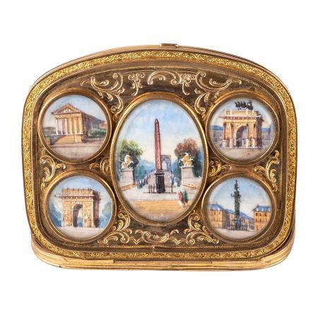 French Souvenir Purse