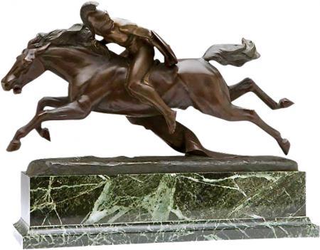 Bronze Roman Warrior