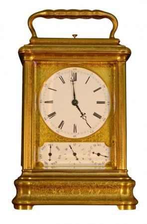 French Giant Carriage Clock