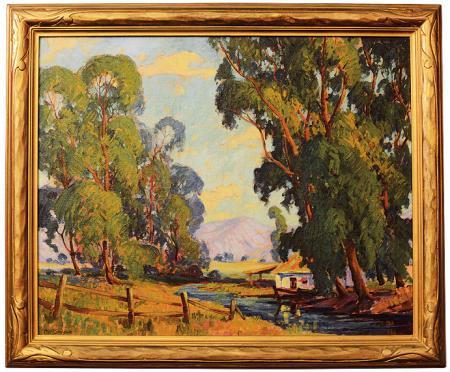 California Oil on Canvas by Baldwin